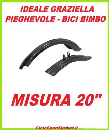 """COPPIA PARAFANGHI per GRAZIELLA PIEGHEVOLE misura 20/"""" in PVC resistente"""