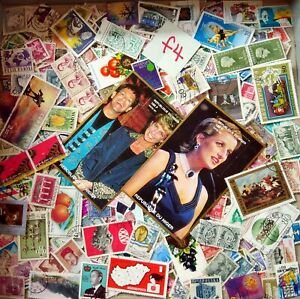 World-Mix-Stamps-500-pcs-with-Diana-b