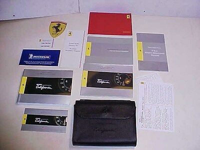 Ferrari California Owners Manual_Pouch_Warranty Book ...