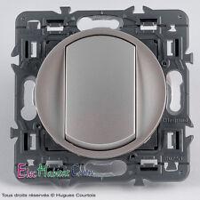 Interrupteur Legrand Céliane titane 67001+68301+80251