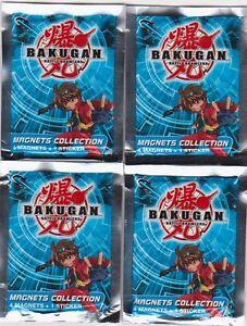 16 Magnets Bakugan Sous Blister Neuf + Possibilité Plateau Jeu Offert Booster T2nquqn7-07183332-150809058