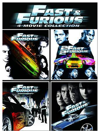 Fast And Furious 4 Movie Collection Dvd 2009 4 Disc Set For Sale Online Ebay