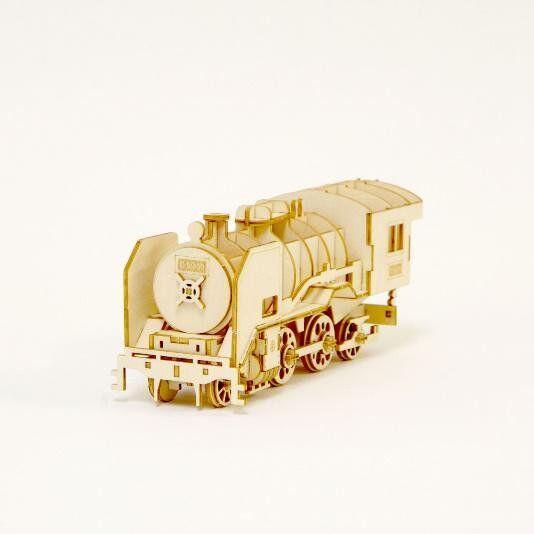KIGUMI Ki-gu-mi Holzen Art - Steam Locomotive