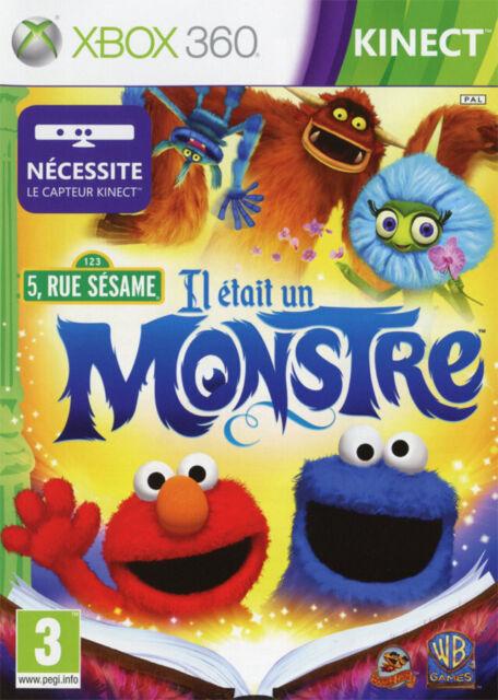 5 RUE SÉSAME - IL ÉTAIT UN MONSTRE / XBOX 360 / NEUF SOUS BLISTER D'ORIGINE / VF