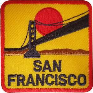 San-Francisco-Patch-Badge-Iron-Sew-On-Embroidered-California-Golden-Gate-Bridge