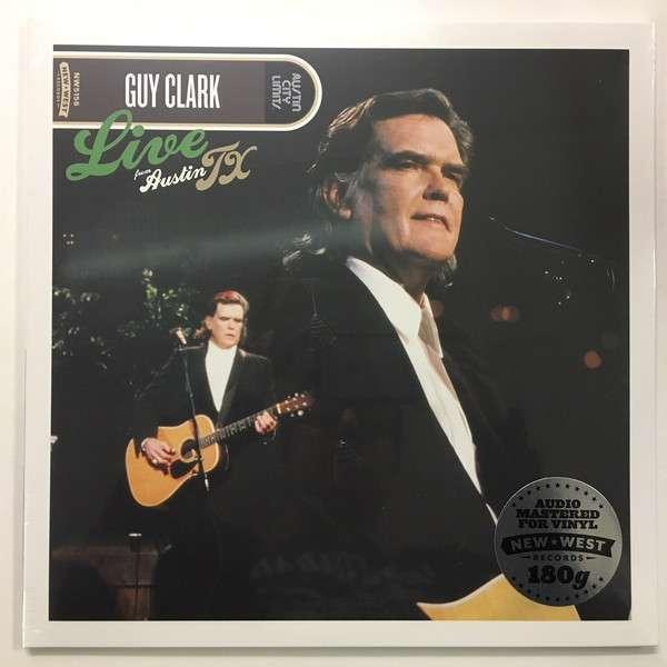 Guy Clark - Live From Austin, Tx Nuevo LP
