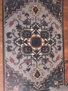 Anthropologie Tufted Wool Rug 5 X 8 698 Msrp Ebay
