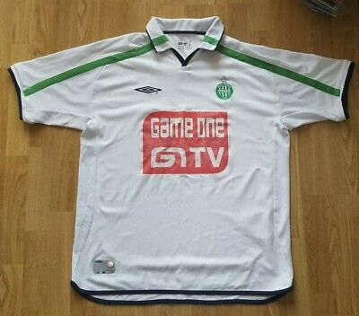 Gewijd St Etienne Away Shirt; 2001-2002 Season; Size Xl; France; Umbro; Rare; Used