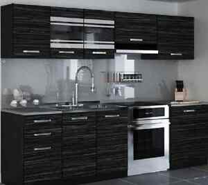 Brand new modern kitchen complete set 240cm 7units for Complete new kitchen