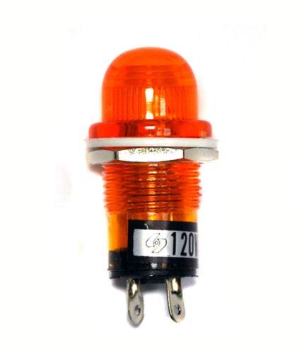 5pc indiquer Neon Lampe 8008A-Y φ18mm 18 mm color = orange AC110V DK Taiwan