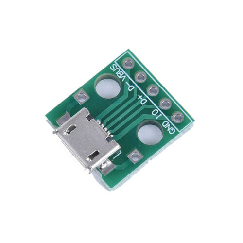 USB2.0 male to dip female to dip micro USB 4P to direct adapter module AE