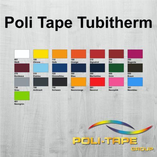 30,16€//m² 21x30 cm Flockfolie Poli-Tape Tubitherm®  DIN A4