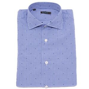 1848X-camicia-uomo-BROUBACK-TEXTURED-SHIRT-white-blue-cotton-man