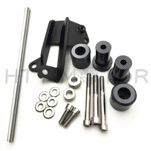 No Cut Carbon Fiber Frame Slider for Honda CBR600RR 600 2003 2004 2005 2006