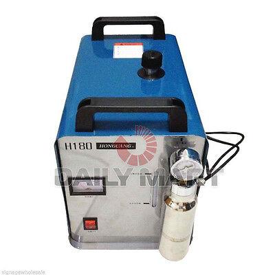 H180 95L Generic Oxygen Hydrogen Water Welder Flame Polisher Polishing Machine