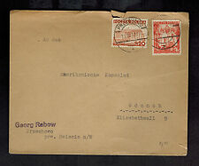 1939 Przechowo Poland Cover to American Consulate Gdansk