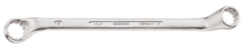 Gedore 6016590 double ended ring spanner offset 12x13 mm