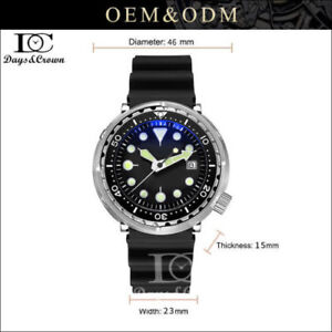 316L-Stainless-steel-Vintage-SterileTuna-200M-Diver-NH35A-Automatic-Dive-watch