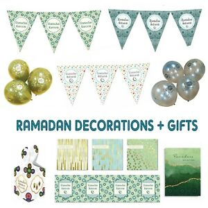 Ramadan-2019-Ramadhan-Mubarak-Party-Decorations-Banner-Balloons-Bunting-Cards