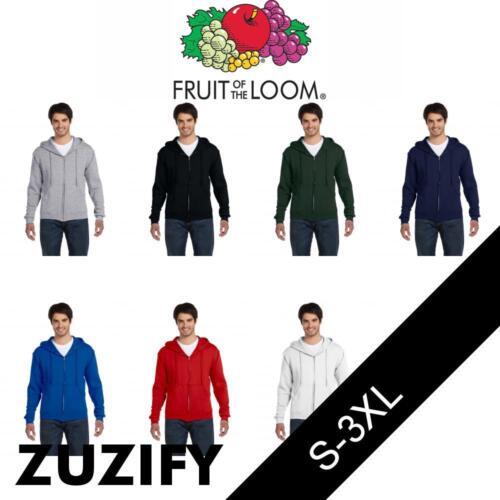 Fruit of the Loom Supercotton Full-Zip Hooded Sweatshirt 82230R