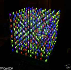 DM13A-Component-kit-for-8X8X8-RGB-LED-Cube-Base-Driver-board-by-SuperTech-IT