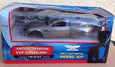 RARE! Aston Martin 1:18 Diecast MODEL KIT Beanstalk V12 Vanquish James Bond 007