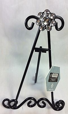Display Easel, Sturdy Black Metal For Plates, Tiles, Picture Frames.