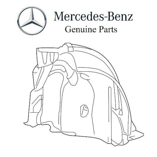 For Mercedes R231 SL-Class Front Passenger Right Rearward Fender Liner Genuine