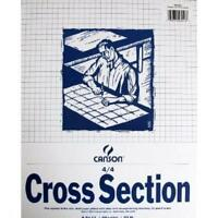 Canson Foundation Series Graph & Layout Pad, 8/8 Grid, 11 X 17, New, Free Ship