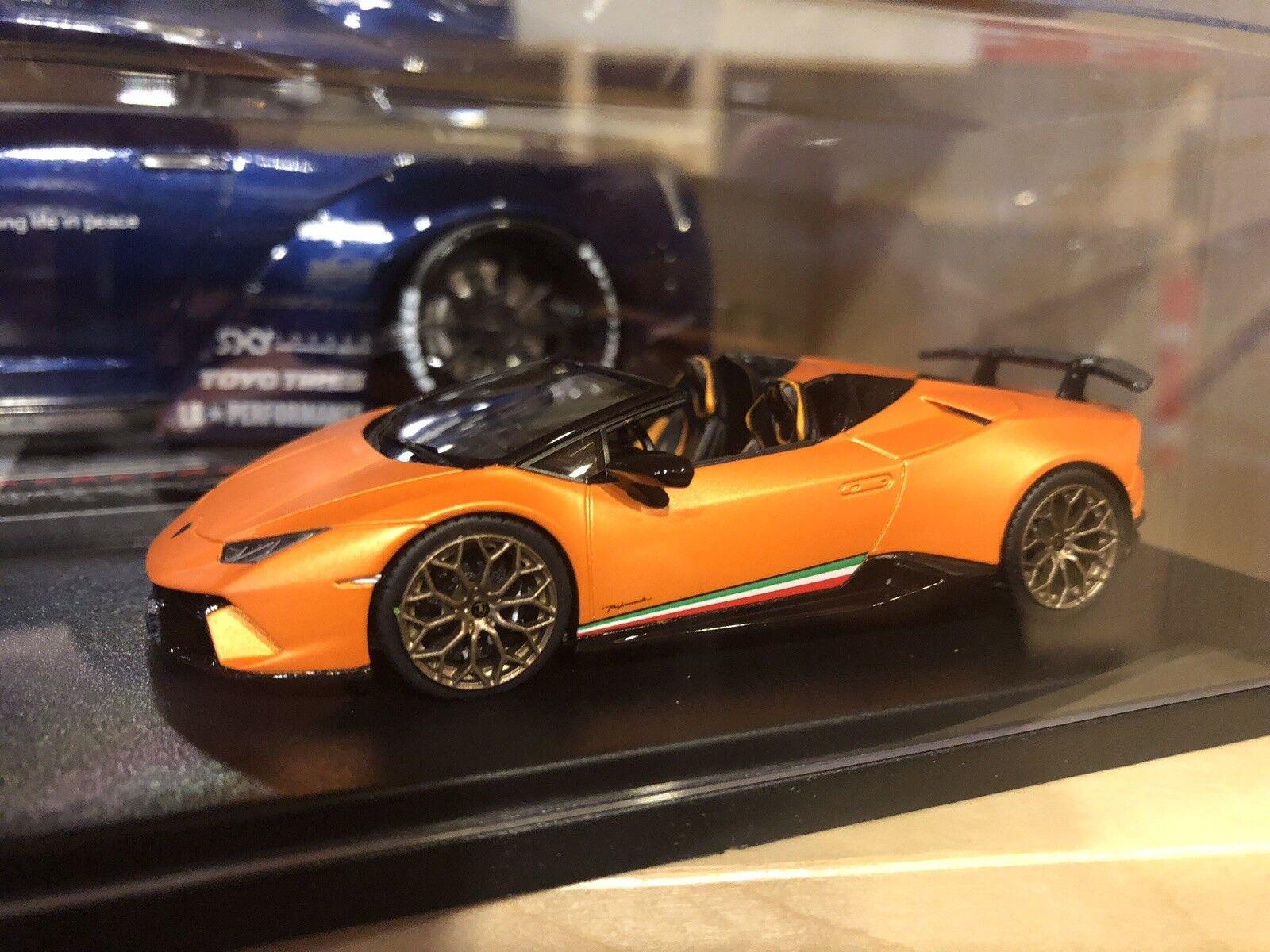 Lamborghini Huracan nor SPYDER-ARANCIO anthaeus-Looksmart - 1:43