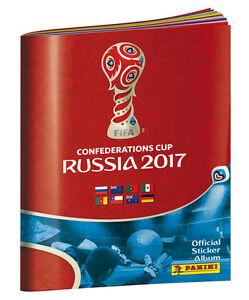 Panini-Confederations-Cup-Russia-2017-200-gemischte-Sticker