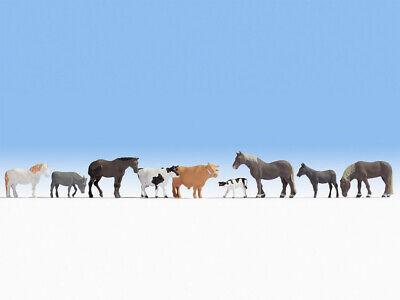 N escala 1:160 figuras modelismo maqueta trenes Noch 36745 Animales de bosque 9x
