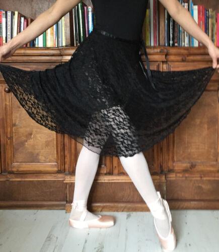 New Professional lady girl women ballet dance lace teaching wrap skirt
