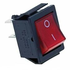 interruttore a 2 posizioni ON-OFF a bilanciere ON-OFF 250V 16A 32x25mm luminoso