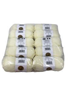 NIB Lion brand Acrylic Brown Yarn #4 Medium Lot Of 10 Skeins 650 Yards MSRP $45