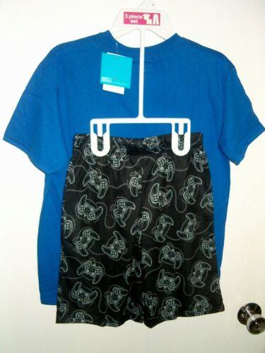 "Sonic The Hedgehog T-Shirt /& Sleep Shorts Pajamas /""Separates/"" Sold As Set  8 NWT"