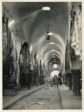 Photo Argentique Lehnert Souk de Tunis Vers 1930