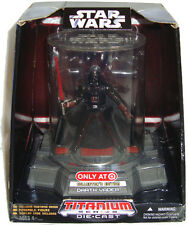 Star Wars Darth Vader Titanium Die Cast Figure Target Exclusive Mustafar Armor!