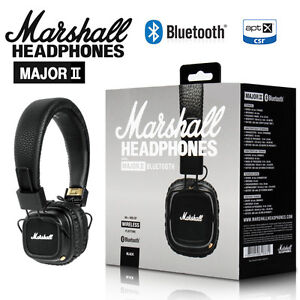 NEW-Marshall-Major2-Bluetooth-Headphones-Generation-Headset-Remote-Mic-HIFI
