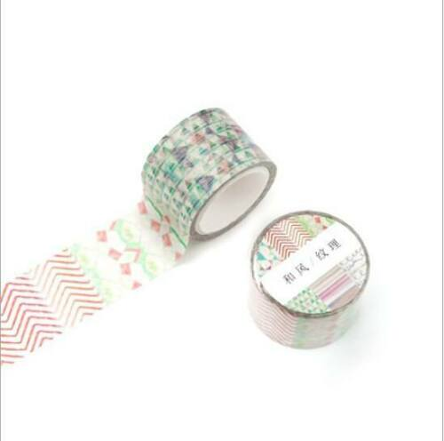 DIY Decorative Washi Paper Tape Album diary  necessities scrapbooking Stickers