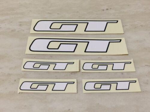 GT wing America Design decals sticker BMX 6