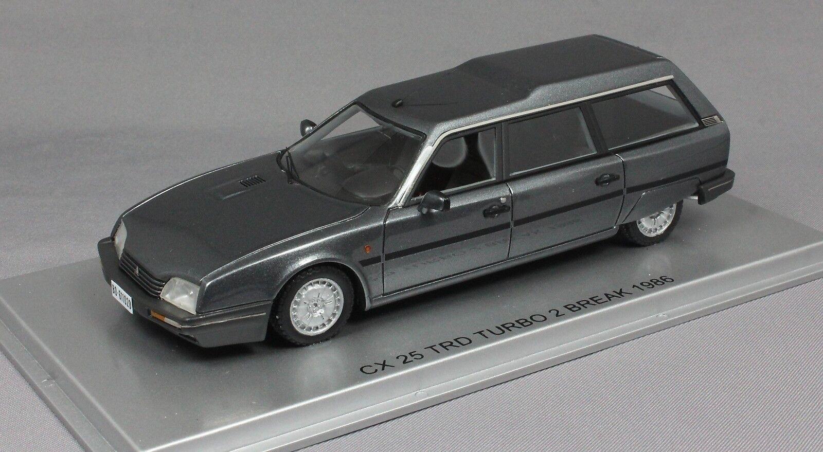KESS CITROEN CX 25 TRD Turbo Estate in gris Met 1986 KE43011020 Ltded 300 1 43 Nouveau