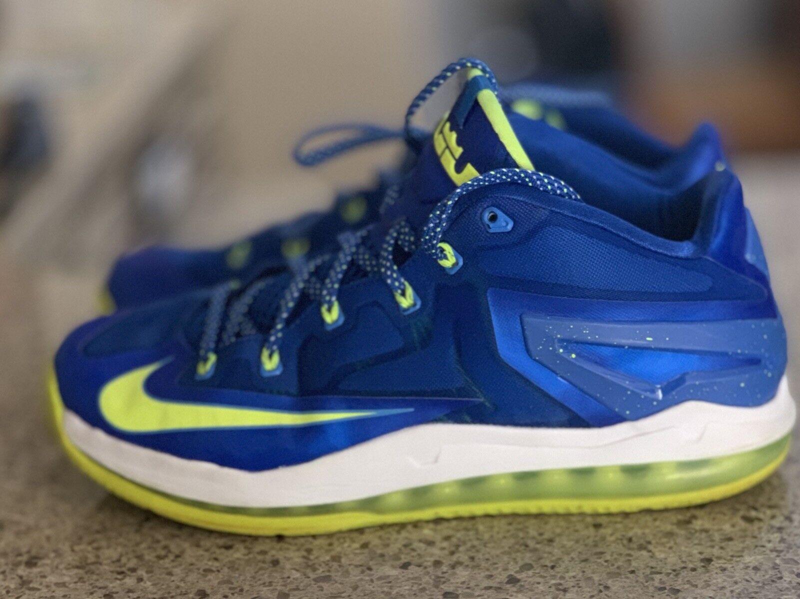 Nike Air Max Lebron XI 11 Low Size 11.5 SPRITE