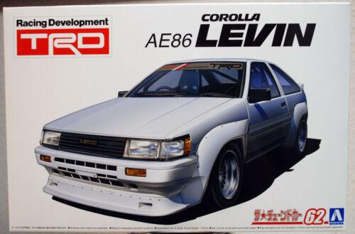 1983 Toyota Corolla Levin AE86 TRD JDM 1:24 Aoshima 057988
