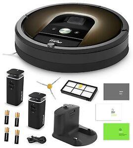 Irobot Roomba 980 Automatic Robotic Vacuum Cleaner