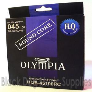 Amical Olympia Haute Qualité Base Ronde Cordes Guitare Basse Électrique 45100 Jauge