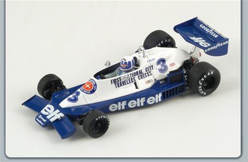 Tyrrell D.Pironi 1978 N.3 5Th Monaco Gp 1:43 Spark S1731