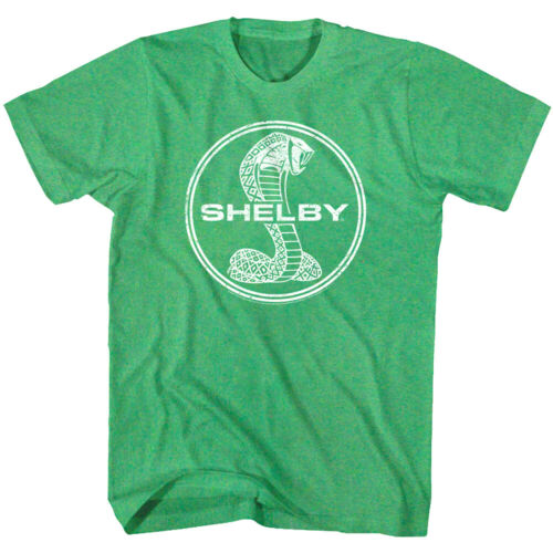 Shelby Cobra Vintage Snake Logo Men/'s T Shirt American Muscle Sports Car Racing