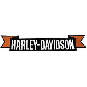 harley davidson aufn her emblem hd rocker patch. Black Bedroom Furniture Sets. Home Design Ideas