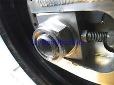 SUZUKI GSR 600 GSXR 600 750 RMZ 450 AXLE FLANGED NUT TITANIUM M22X1.5 REAR R2C9